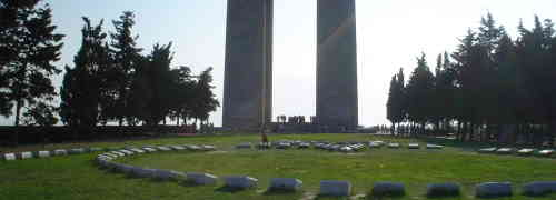Holsamder'e Canakkale'den tesekkur mektubu