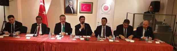 Yurtdışı Türkler ve Akraba Topluluklar Alt Komisyonu toplantısı Rotterdam'da gerçekleşti.
